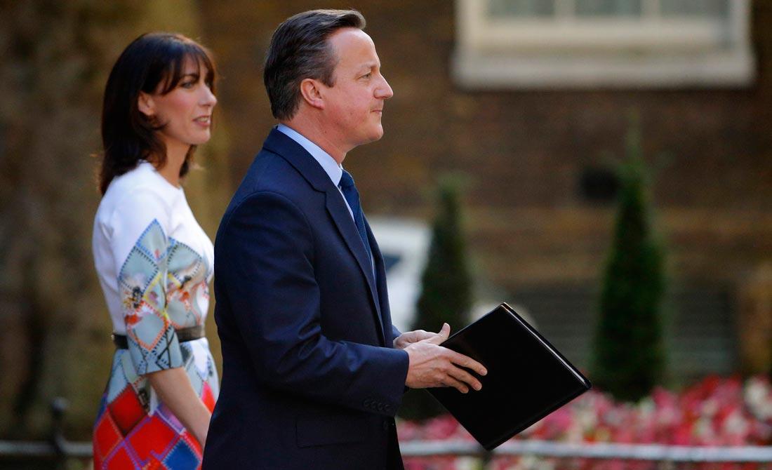Junio de 2016. Reacción de David Cameron ante la victoria del Brexit.