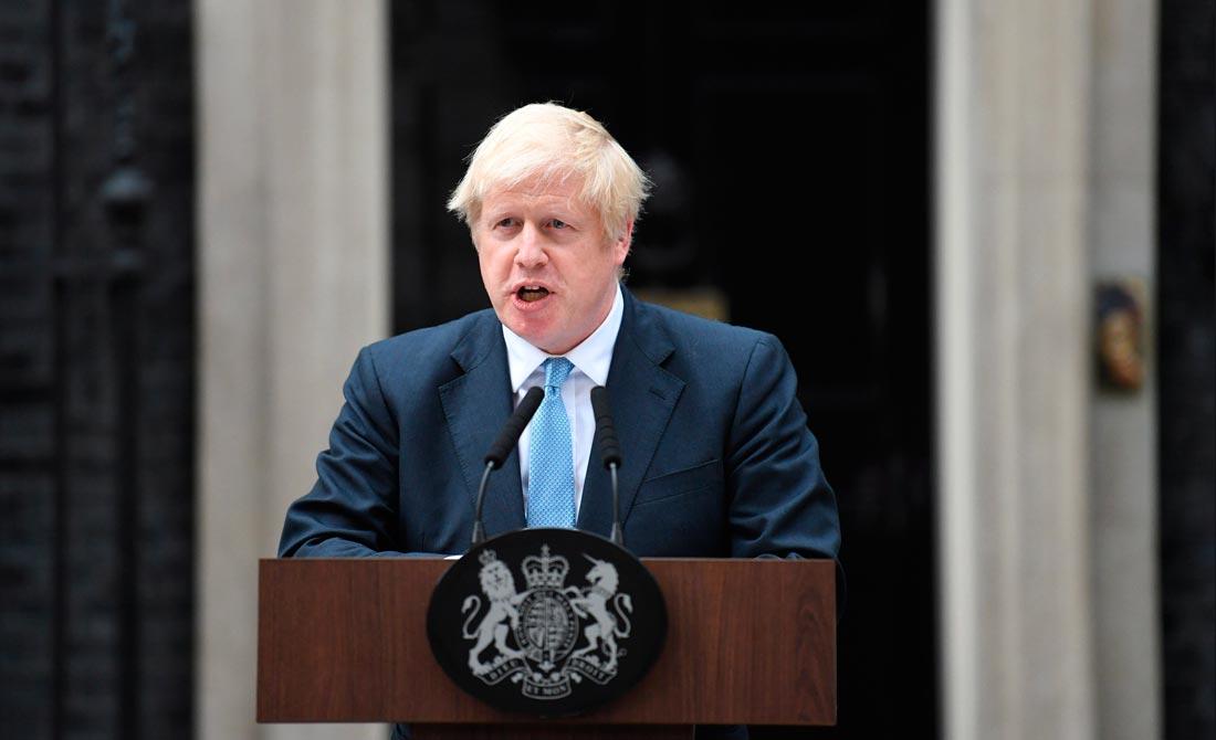 Septiembre de 2019. El primer ministro ofrece las razones para no extender el plazo.