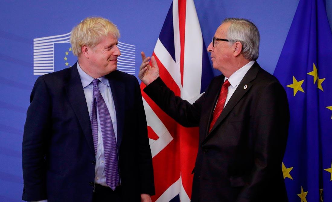 Octubre de 2019. Johnson y Juncker llegan a un acuerdo para la salida.