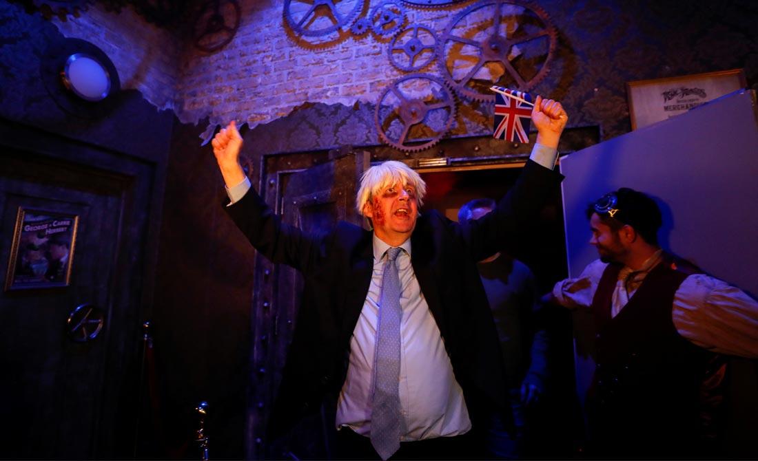 Octubre de 2019. Justo la noche en la que Reino Unido se iba a ir se celebró  la fiesta 'End of the World Party'.