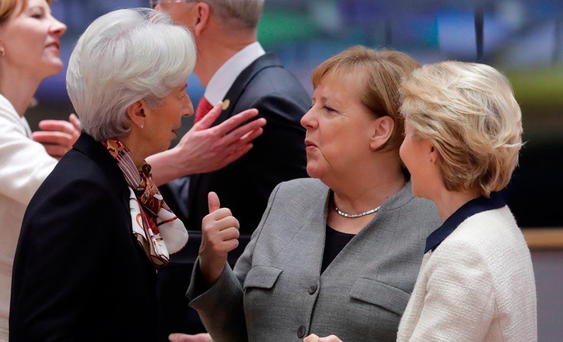 Diciembre de 2019. Consejo europeo en Bruselas al día siguiente de las elecciones británicas.