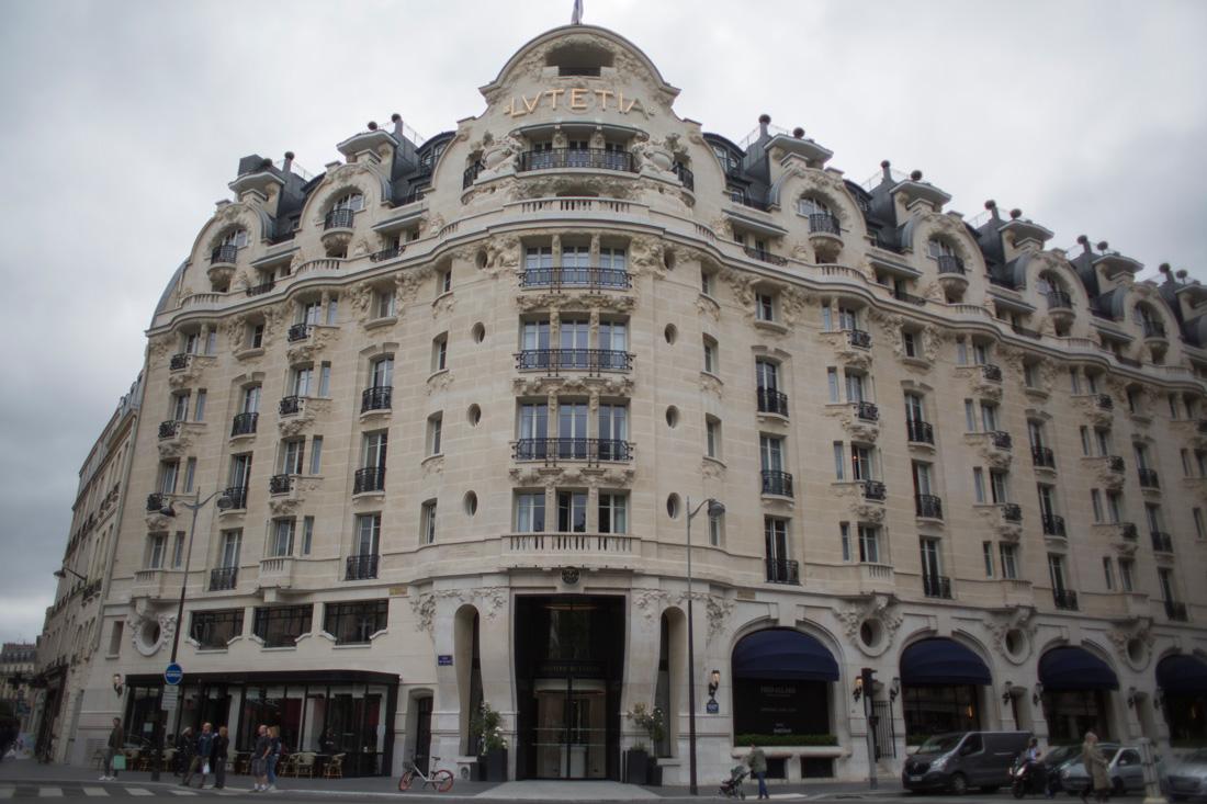 Hotel Lutetia, en el centro de París