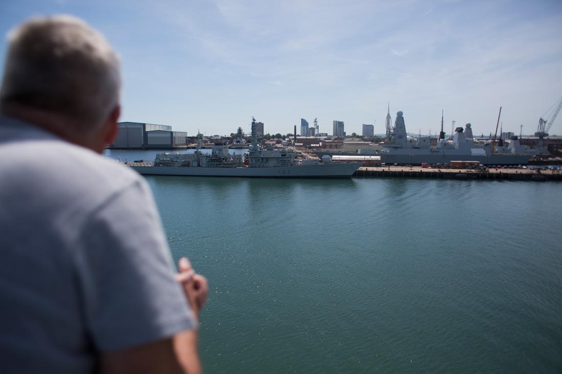 Puerto militar de Portsmouth