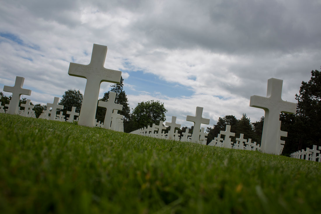 Cementerio americano en Colleville