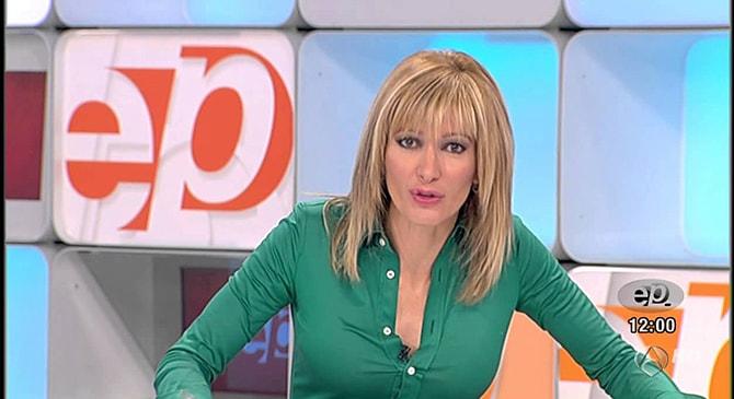 Susana Griso en los inicios de 'Espejo Público'