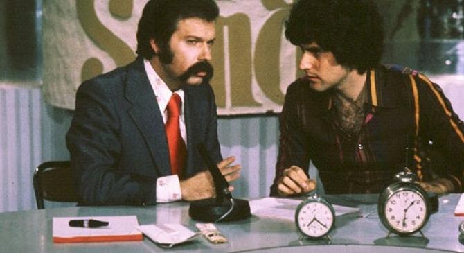Jose María Íñigo y Uri Geller en 'Directísimo'
