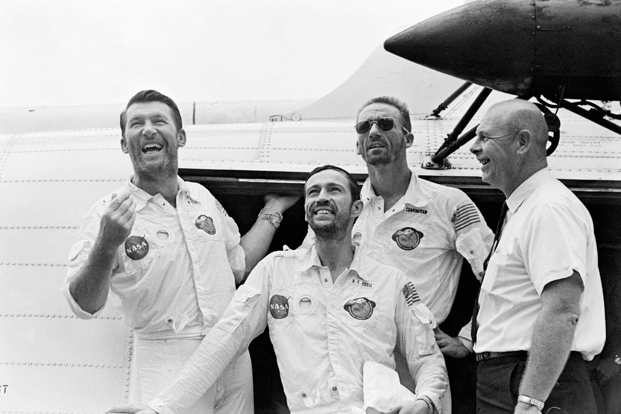 La tripulación del Apolo 7