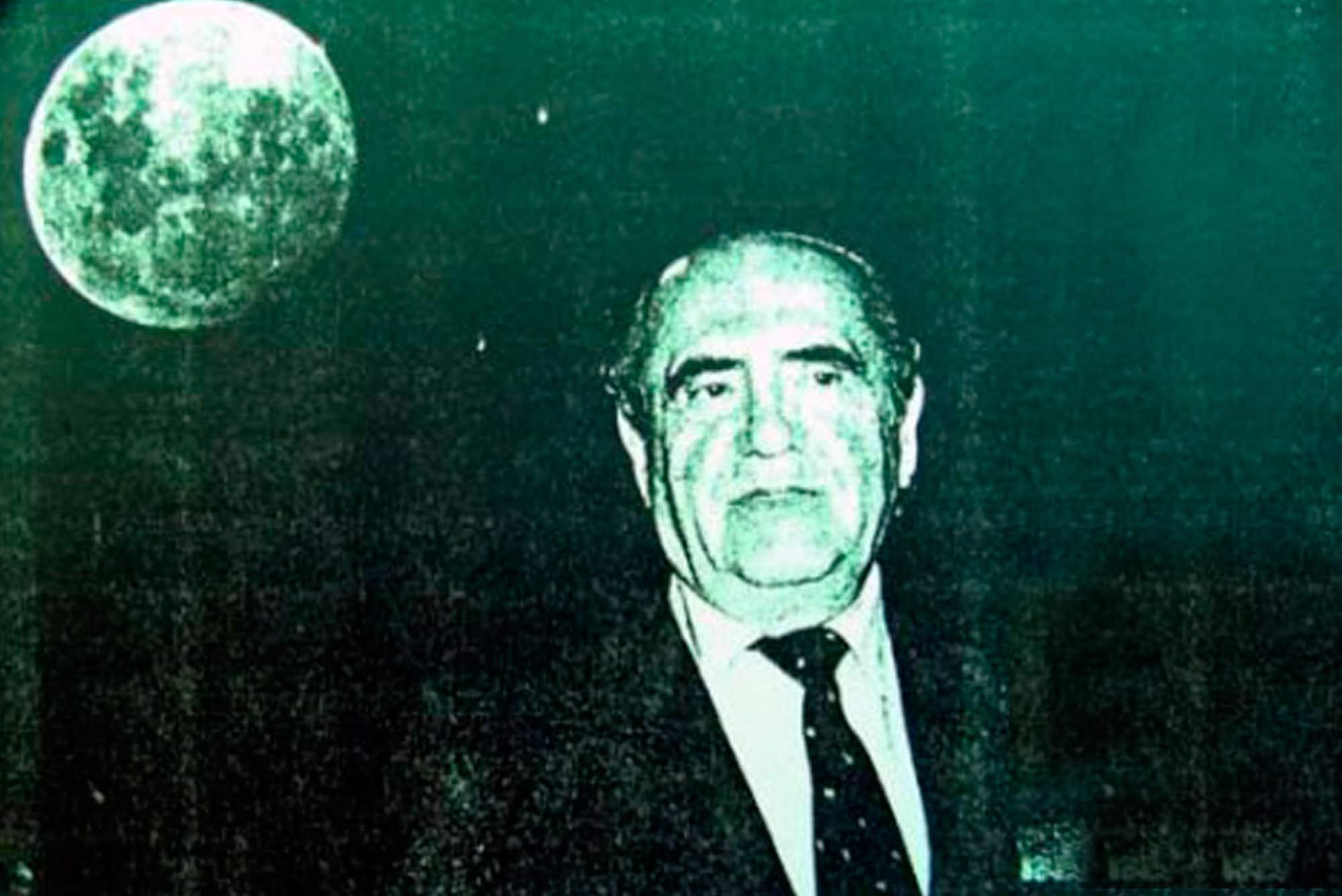 Jenaro Gajardo, el dueño chileno de la Luna. | Foto: E.M.