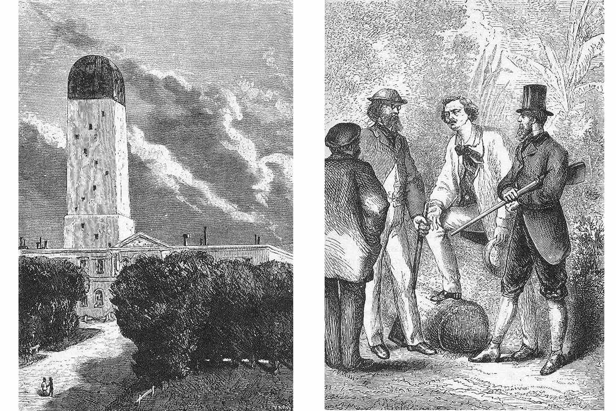 Ilustraciones de las ediciones originales de las obras de Julio Verne