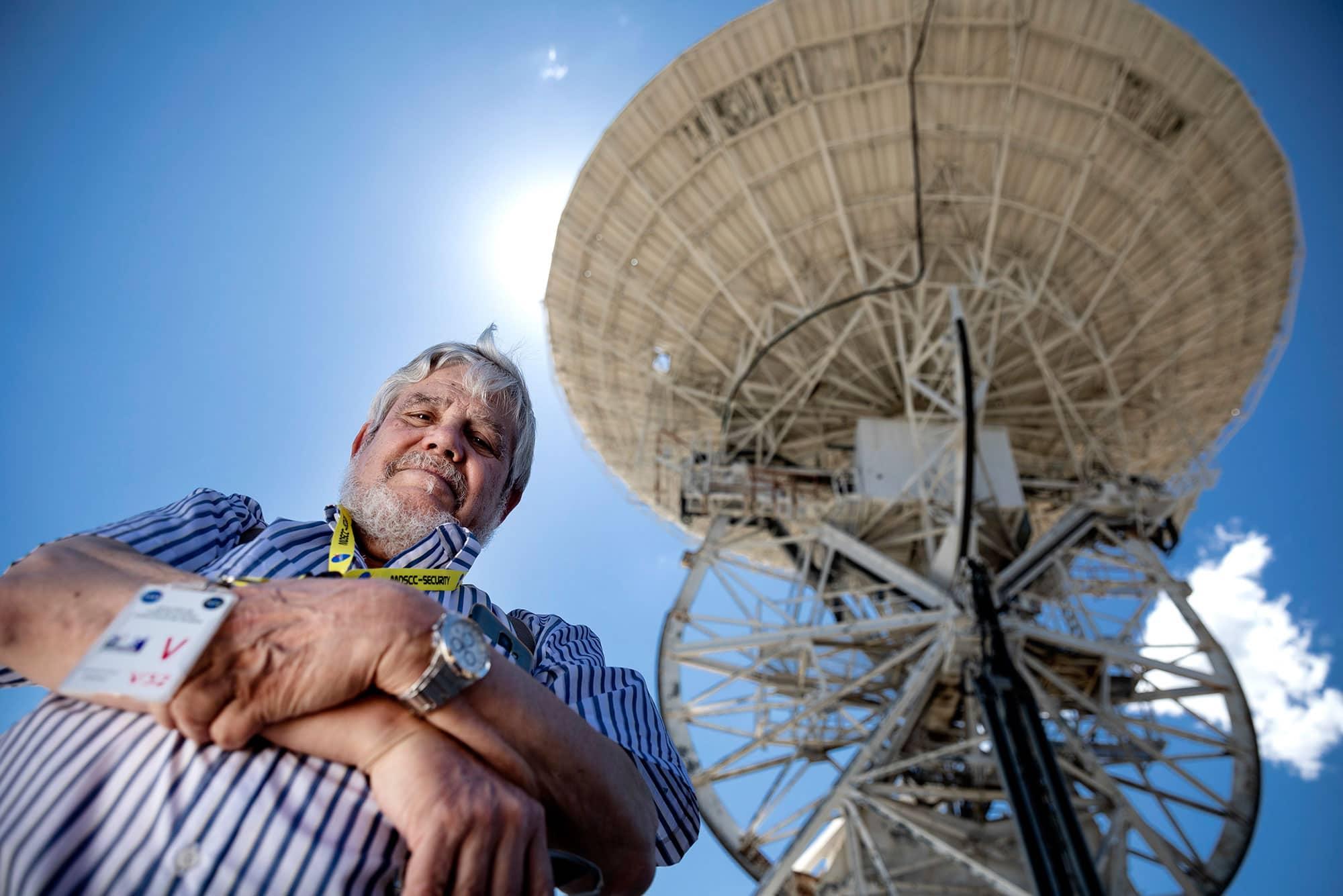 José Manuel Grandela, ex ingeniero controlador de naves espaciales de la NASA