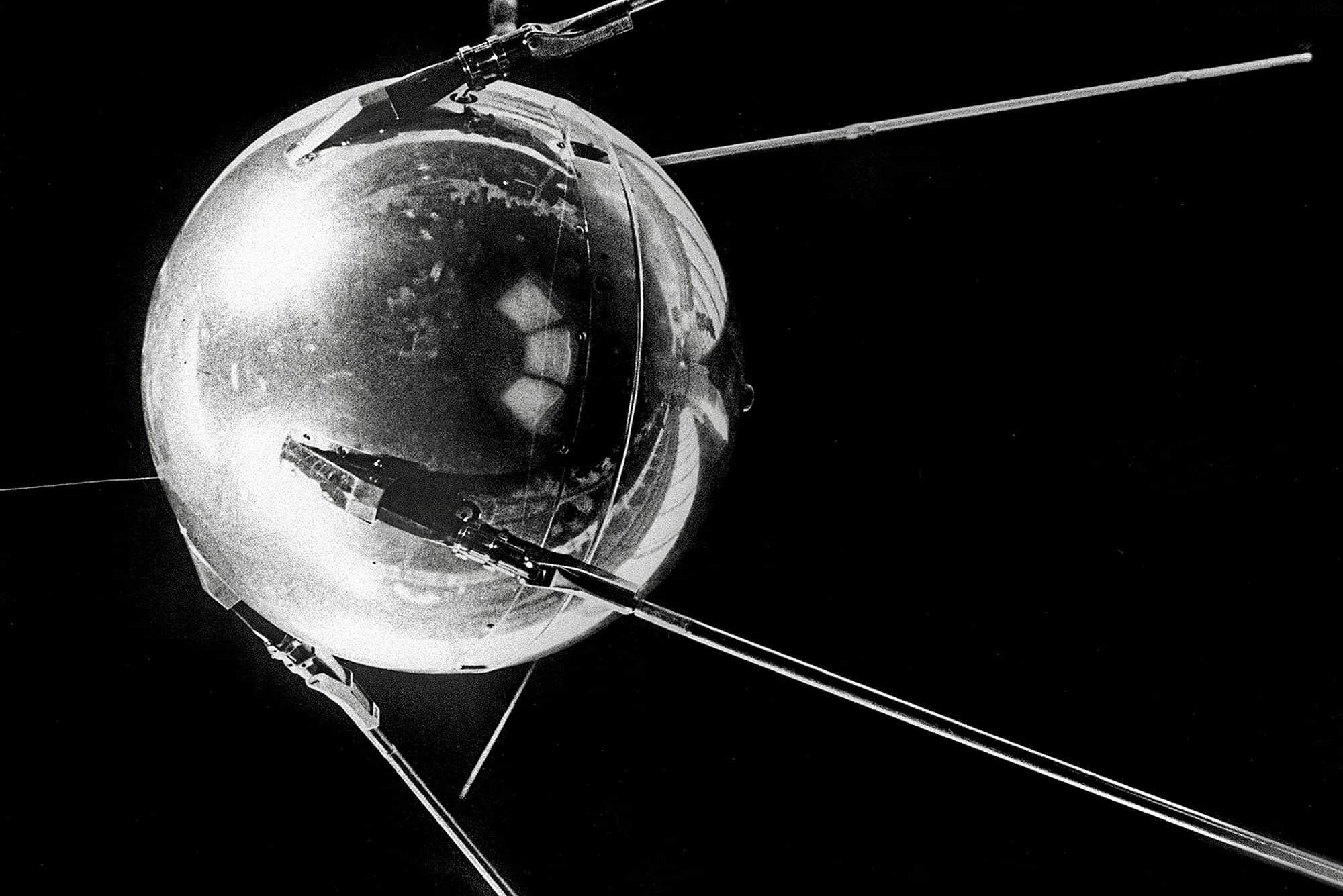 El Sputnik 1, el primer satélite artificial de la Historia