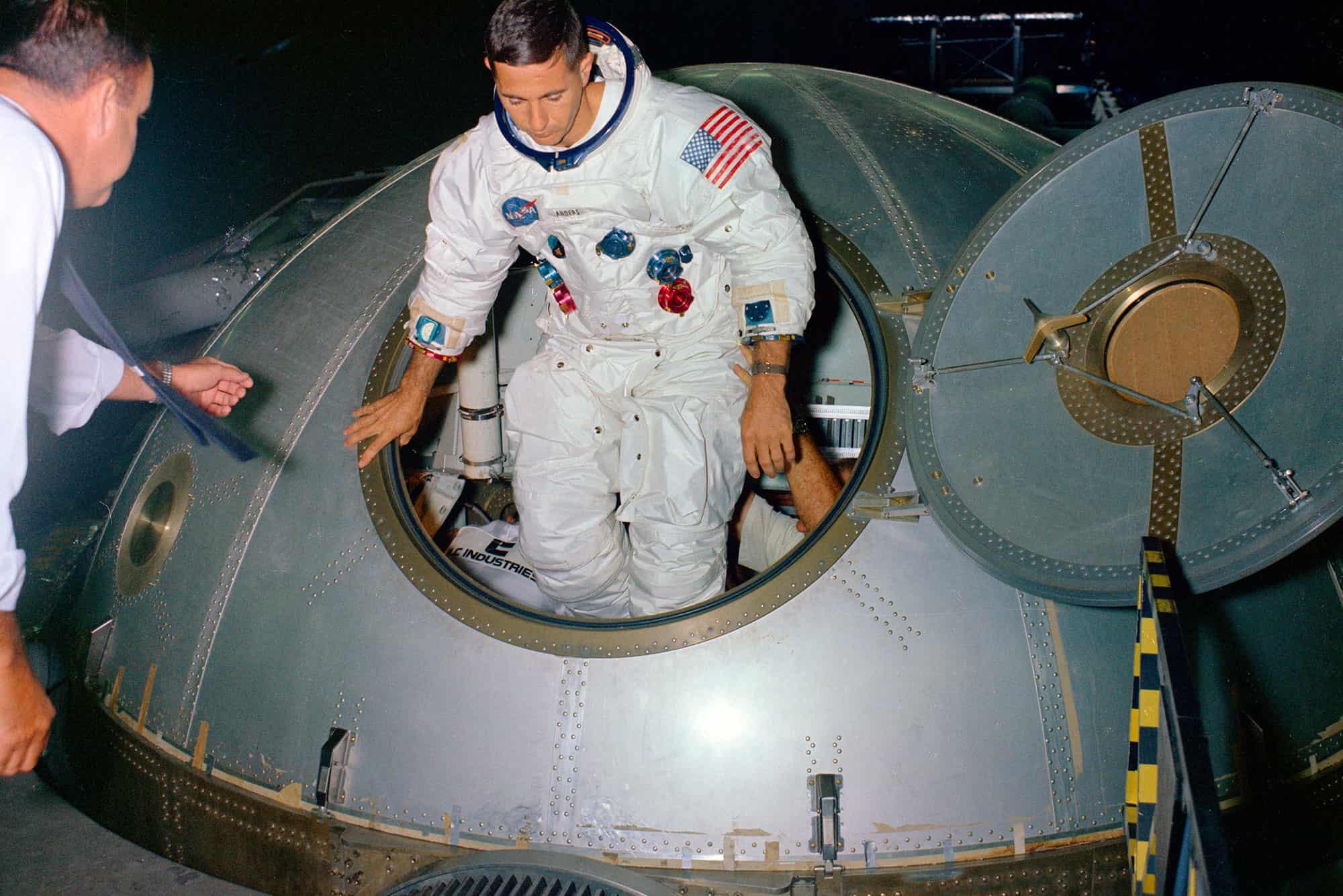 El astronauta del Apolo 8 que tomó la foto 'Earthrise'