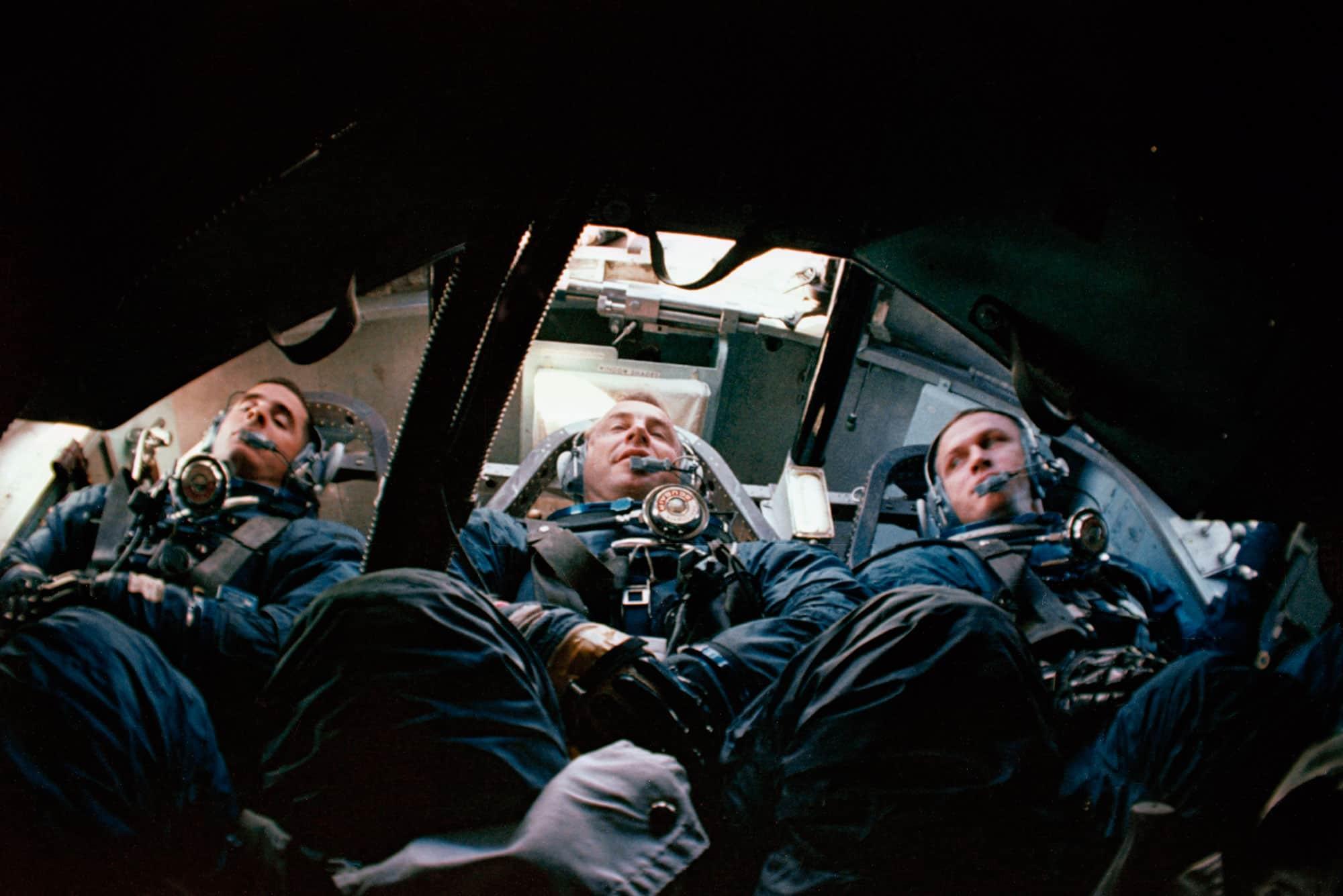 Entrenamientos del Apolo 8